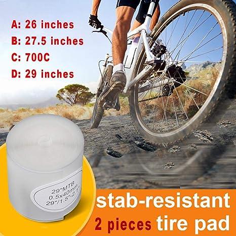 Stichfest Reifenpolster-Schutz Schlauchschutz Fahrrad-Reifenschutz Praktisch