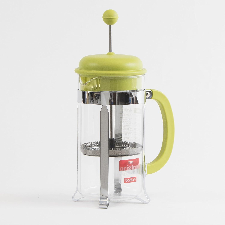 Bodum Caffettiera 1リットル8-cupコーヒーメーカー、34-ounce、グリーン   B00FL7KBJM