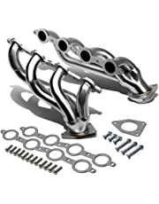 amazon headers headers parts automotive 1990 Chevy Truck dna motoring hds gy99 stainless steel exhaust header manifold