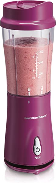 Hamilton Beach 51131 Single-Serve Blender Raspberry (Renewed)