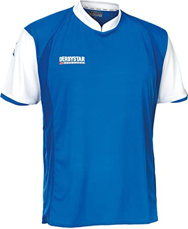 Derbystar Trikot Primera Kurzarm, S, blau weiß, 6162030610