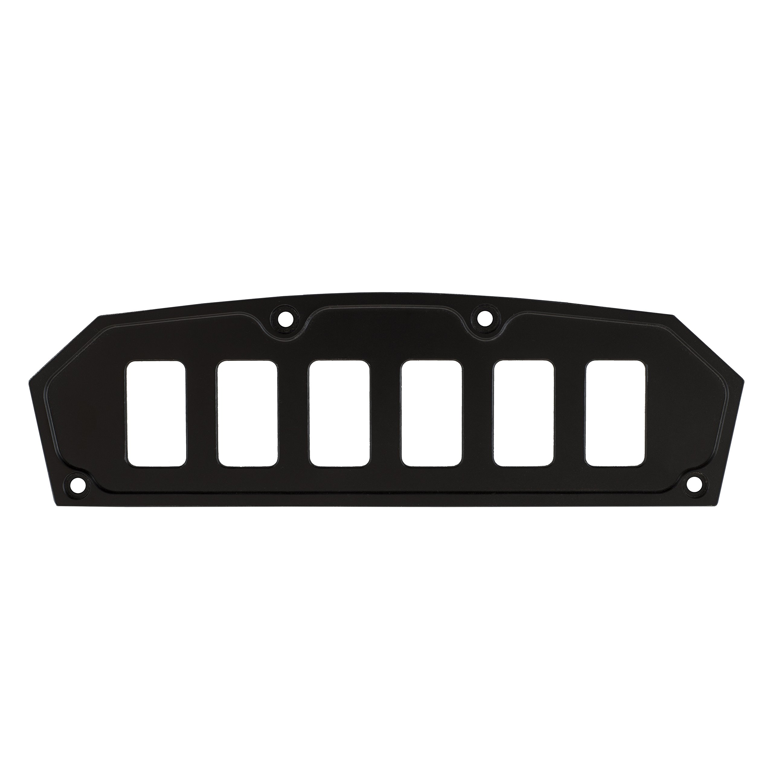 STV Motorsports Custom Switch Dash Panel for Can Am Maverick (no switches included) (6, Black)