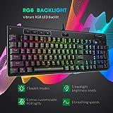PICTEK Mechanical Gaming Keyboard, RGB LED