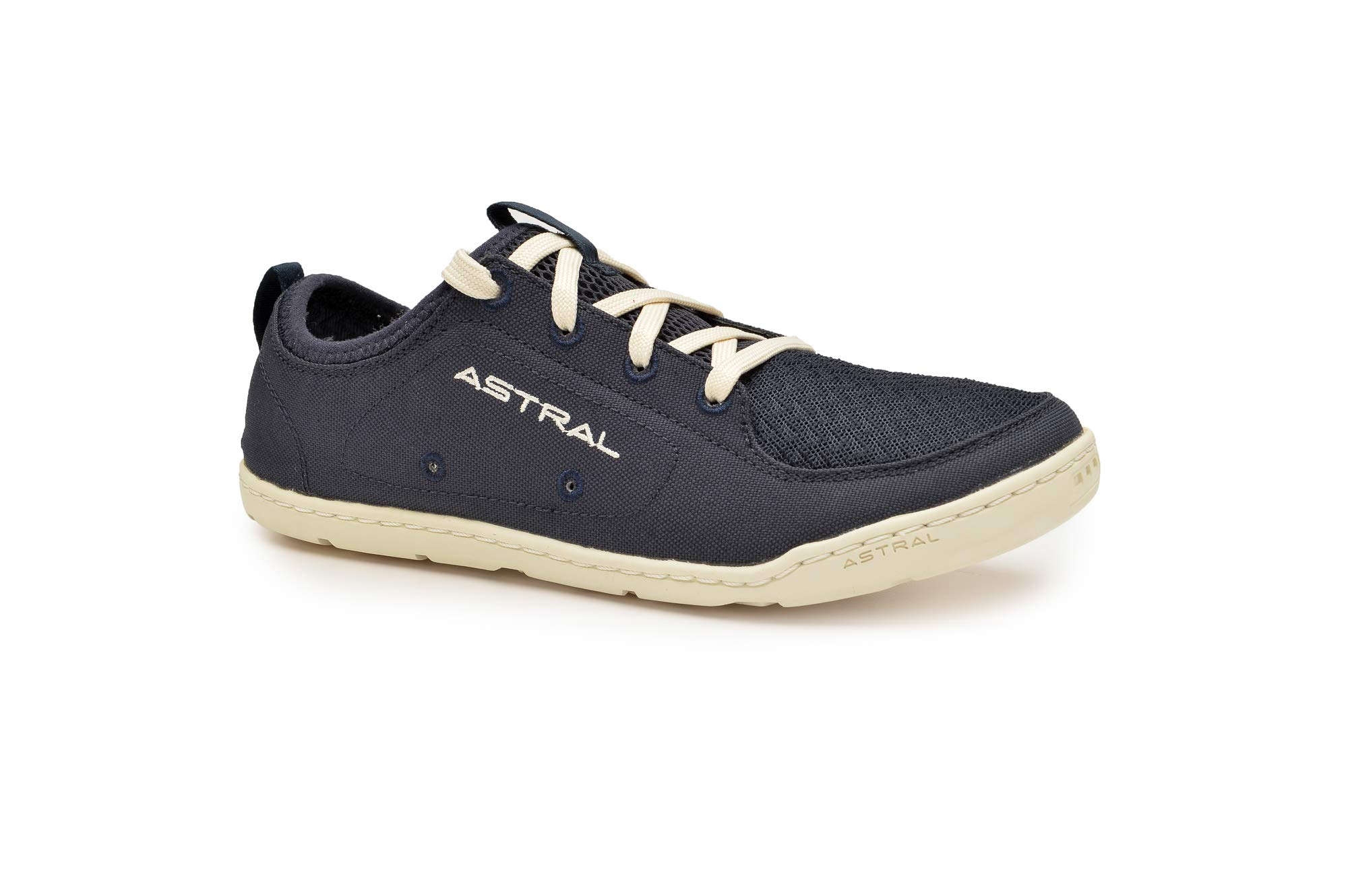 Astral Women's Loyak Everyday Outdoor Minimalist Sneakers, Lightweight and Flexible, Made for Water, Casual, Travel, and Boat, Navy/White, 9 M US by Astral