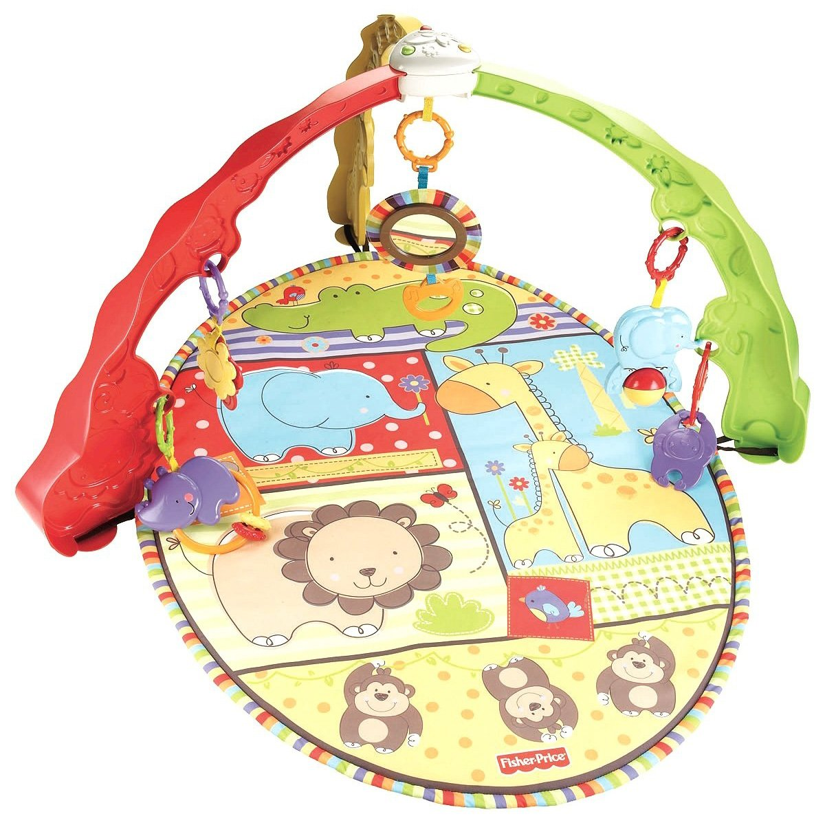 Mattel Gimnasio espejito baby zoo V