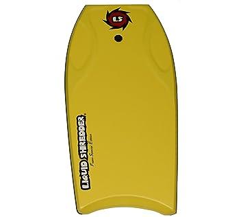 Líquido destructora FSE EPP Bodyboard, Amarillo y blanco