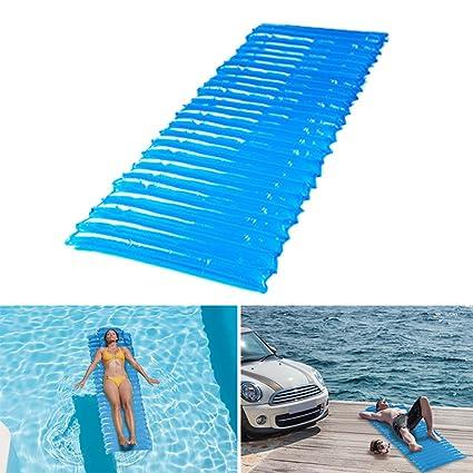 nataci n Inflable Coj n flotador cama de la piscina las vacaciones de verano