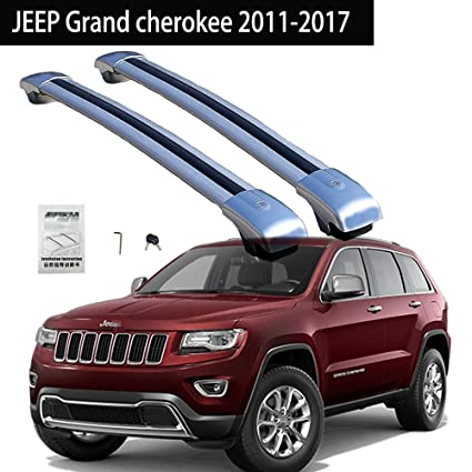 Fit For JEEP Grand Cherokee 2011 2018 Roof Racks Crossbar Baggage Roof Rack  Rail Cross