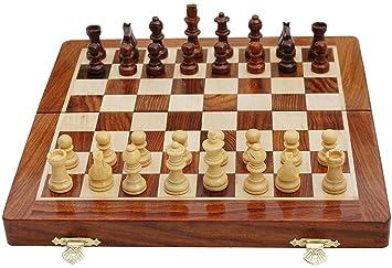 jaliya Folding Smooth Surface Magnetic Chess Board