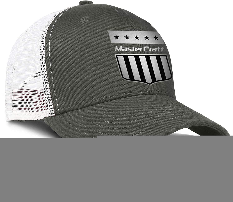 Baseball Mesh Hat MasterCraft-Logo Snapback Mens Womens Adjustable Hip Hop Cap