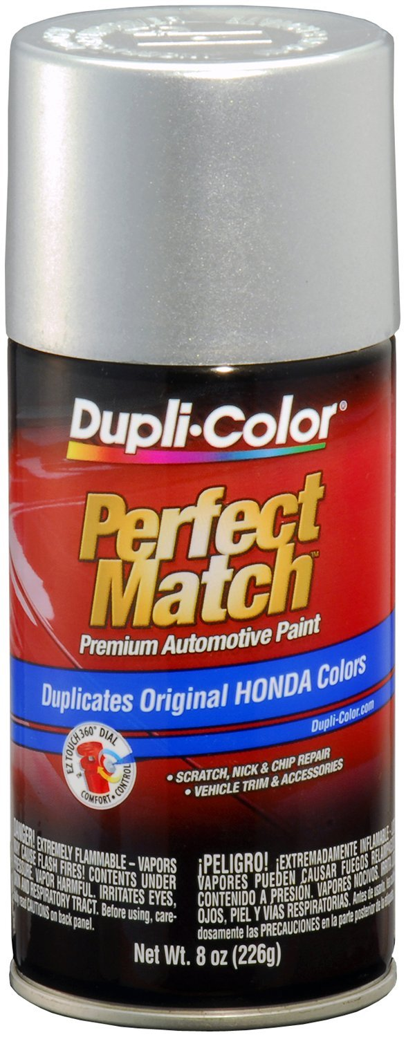 Dupli-Color (BHA0992-6 PK) Billet Silver Metallic Honda Perfect Match Automotive Paint - 8 oz. Aerosol, (Case of 6)