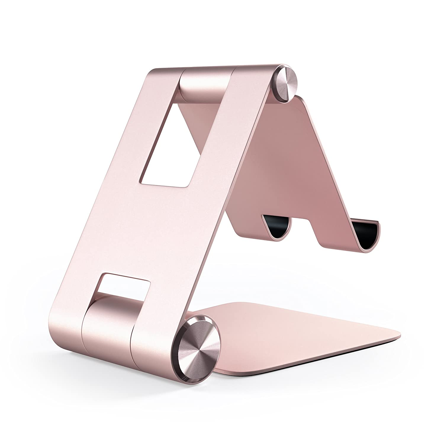 2018 MacBook Air Rose Gold iPhone Xs Max//XS//XR Compatible with 2018 iPad Pro Satechi R1 Aluminum Multi-Angle Foldable Tablet Stand Microsoft Surface Go 8 Plus//8 Samsung S9 Plus//S9