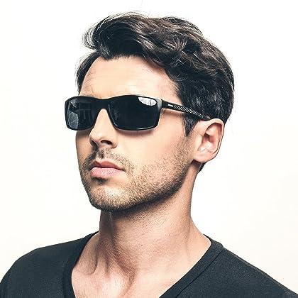 b51af166557 Soxick Polarized Sports Sunglasses For Men UV400 Metal Men s Fashion ...