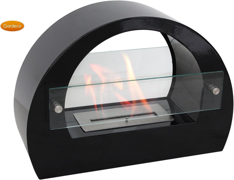 Stunning Free Standing Indoor Or Outdoor Bio Ethanol Fireplace Telka Amazon Co Uk Kitchen Home