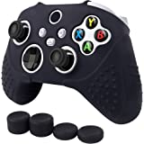 Anti Slip Silicone Grip Case for Microsoft Xbox Series S and XBox Series X Remote Controller, with 2 pairs of Thumb Grip…