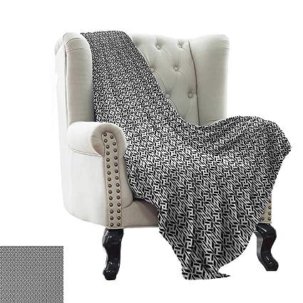 Fabulous Amazon Com Throw Blanket For Couch Black And White Abstract Creativecarmelina Interior Chair Design Creativecarmelinacom
