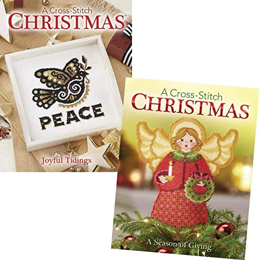 Craftways Cross Stitch Christmas 2020 A Season Of Giving Amazon.com: Craftways Cross Stitch Christmas Books Book/Booklet