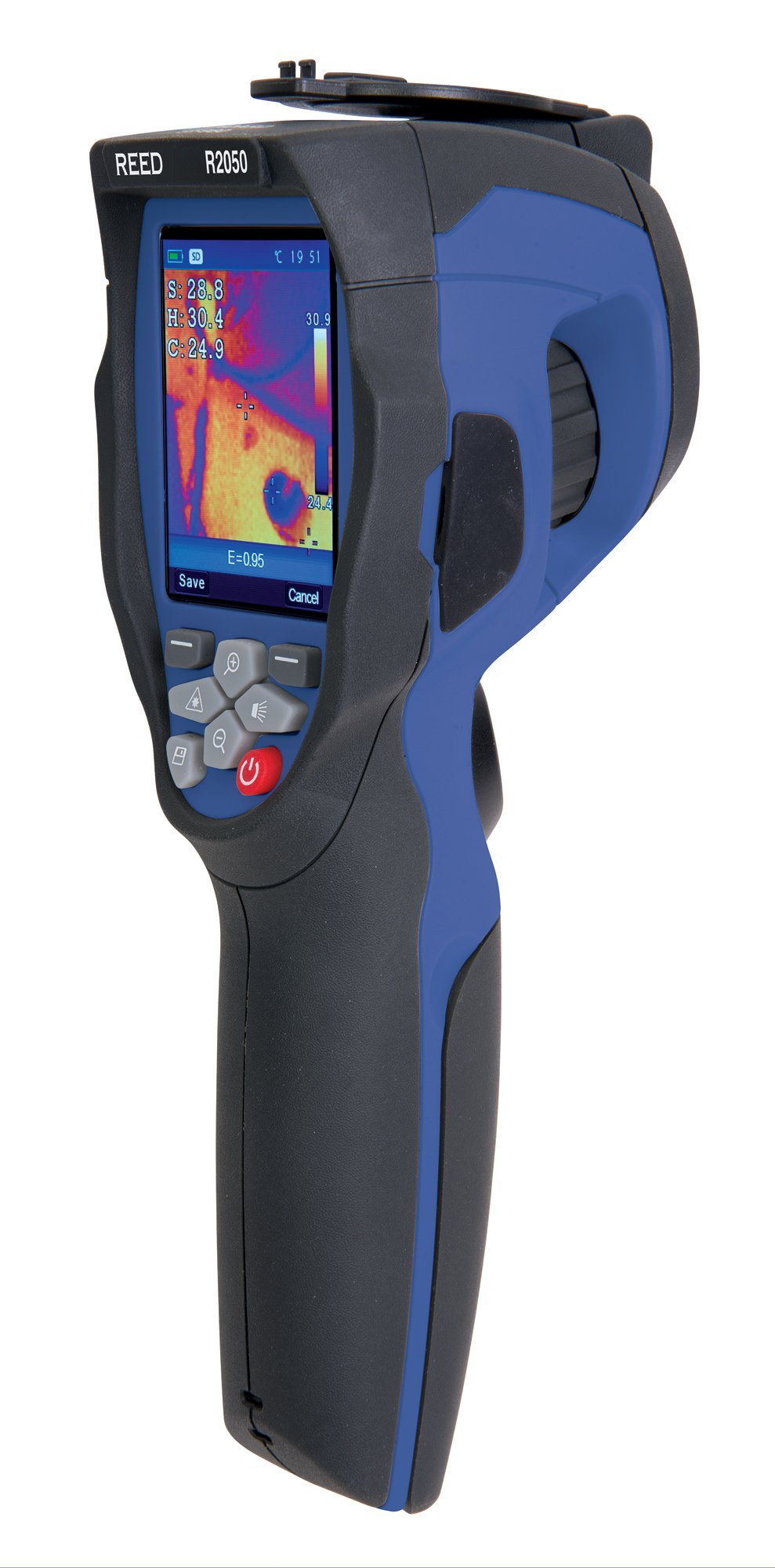 REED Instruments R2050 Thermal Imaging Camera, 6400 Pixels (80 x 80)