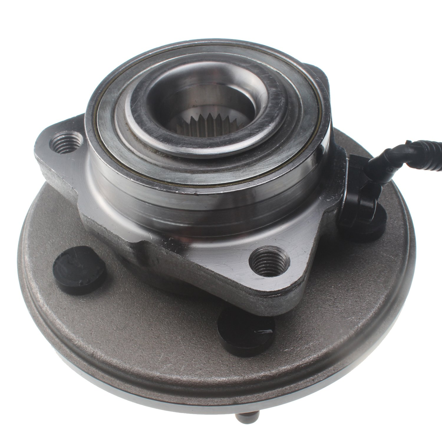 Mover Parts 515050 Front Wheel Hub and Bearing Assembly Fit Ford Explorer,Lincoln Aviator,Mercury Mountaineer 02-05 W/ABS