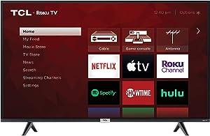 TCL 4K Smart LED TV, 43