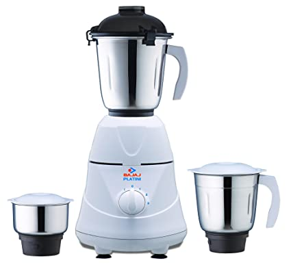 226cddd19db Image Unavailable. Image not available for. Colour  Bajaj Platini PX 7  500-Watt Mixer Grinder