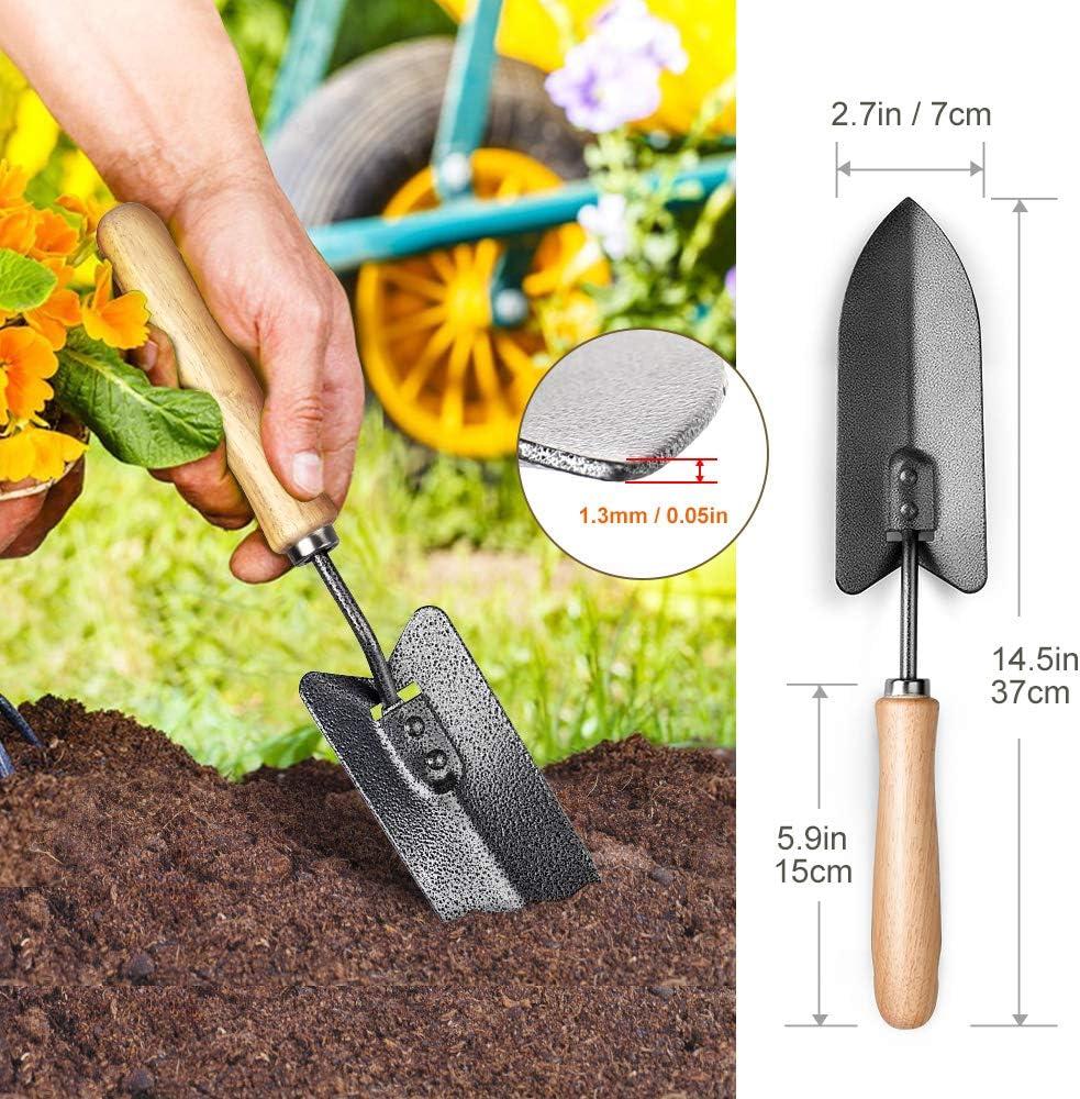High Carbon Steel Garden Trowel Transplanting Handwerkzeuge Arbeit sparen