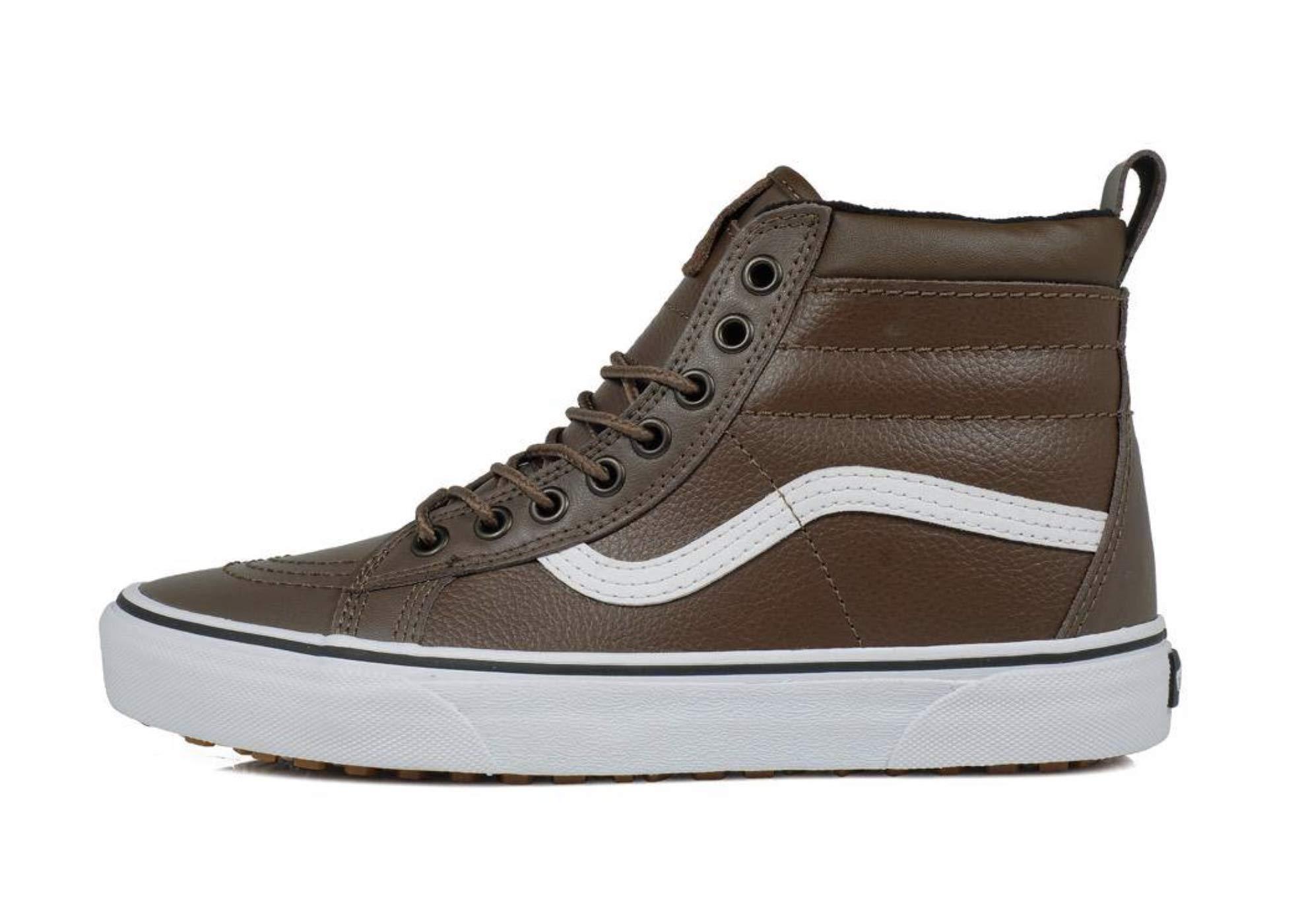 39acfa5f449ece Galleon - Vans Men s Sk8-Hi MTE Leather Skate Shoe (8 M US