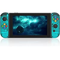 BASSTOP DIY Replacement Shell Case for Nintendo Switch Joy-Con Controller without Electronics (Joycon-Ice Blue)