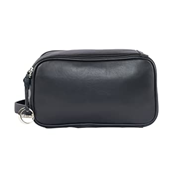 Klasse Genuine Leather Unisex Toiletry Kit Bag Toiletry Kits