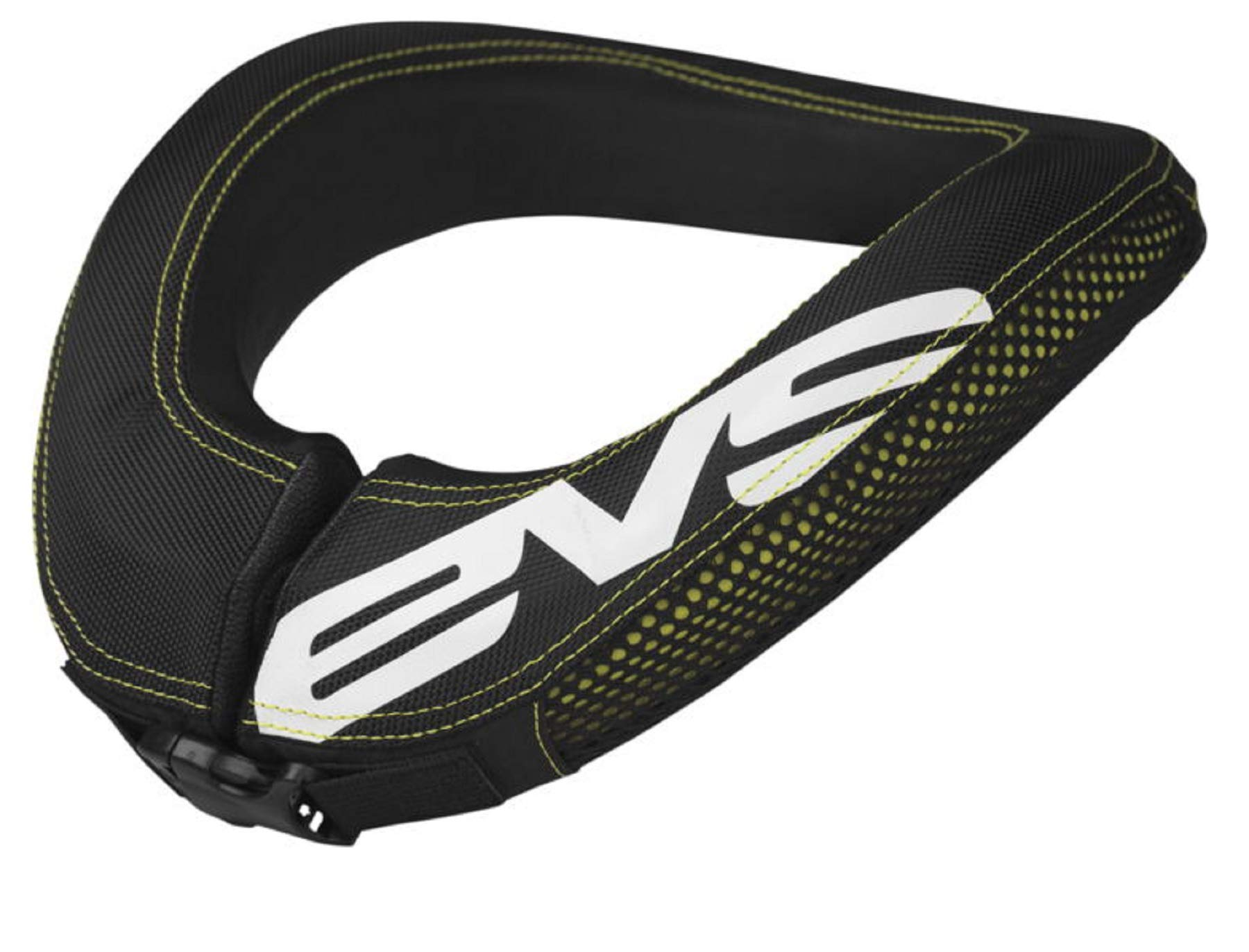 EVS RC2 Adult Race Collar MX Motorcycle Body Armor - Black / One Size
