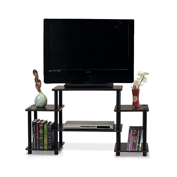 Furinno GY Turn-N-Tube - Centro de Entretenimiento para televisión con Esquina Redondeada: Amazon.es: Hogar