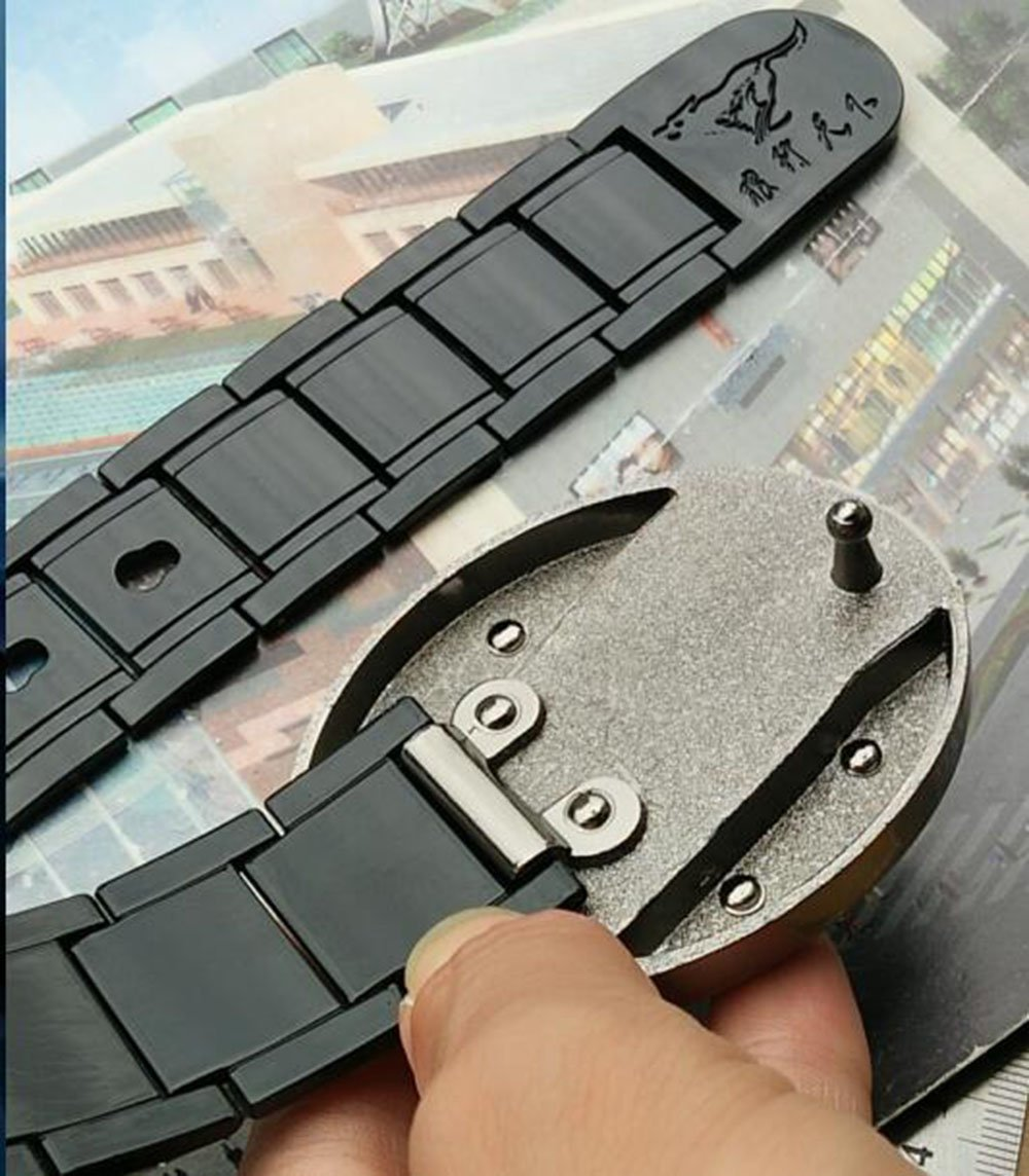 ZYT Difesa Personale Cintura da Uomo Lega S Buckle Head attivit/à Commerciale Ruggine Belt ,95CM 95-135CM