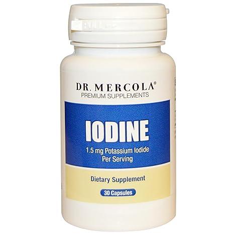 Los suplementos de alta calidad, yodo, 30 Cápsulas - Dr. Mercola