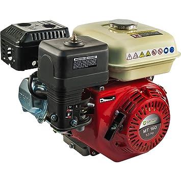 Groway MT-160Q - Motor a gasolina 4T OHV de 163 cc, 5.5 HP ...
