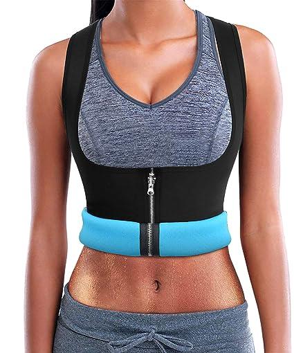 909bb1608a CYMF Neoprene Vest Sauna Top Hot Body Shaper Hot Sweat Women Weight Loss  Compression