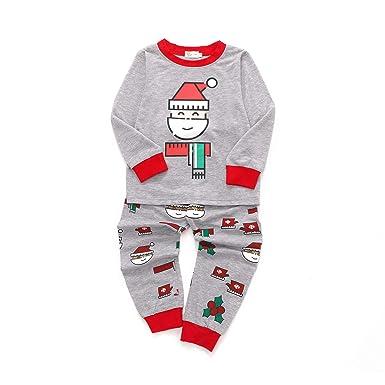 a41e7221bc Tarkis Boys Pyjamas Set Cartoon Printed Long Sleeve Cotton PJS Sleepwear  for Kids 2 to 7