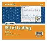 Adams Bill of Lading Short Form, 8.5 X 7.5