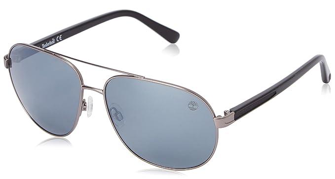 5c1f3322d5 Timberland Men s TB9076 Polarized Aviator Sunglasses  Amazon.in ...