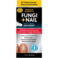 Fungi-Nail Anti-Fungal Ointment, 0.7 Ounce - Kills Fungus That Can Lead To Nail Fungus & Athlete's Foot w/ Tolnaftate…