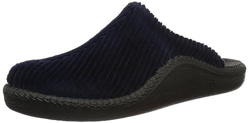 Mokasso 220 - Zapatillas de casa Hombre, Color Azul, Talla 41 Romika