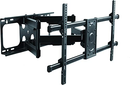Elite Mount – Heavy Duty Dual Arm Articulating TV Wall Mount Bracket for LG 75UK6470 with Reduced Glare – Buy Smart