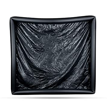 easytoys Online Only hoja con los bordes hinchables negro ...