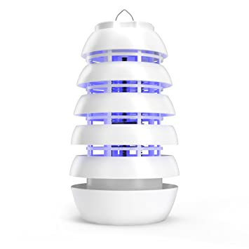 Electronic Insect Killer U2013 Improved Indoor/Covered Patio Bug Zapper U2013  Attracts Bugs, Mosquitoes