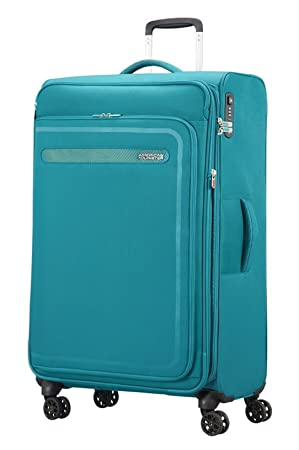 American Tourister Airbeat - Spinner 80/30 Expandable Equipaje de Mano, 80 cm, 112 Liters, Azul (Sky Blue): Amazon.es: Equipaje