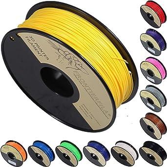 PLA amarillo 1kg 1.75mm - Filamento para impresora 3D ...