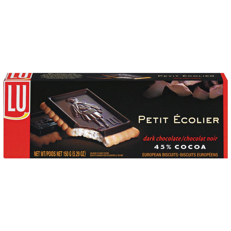 Amazon.com: LU Cookies Le Petit Ecolier, The Little Schoolboy ...