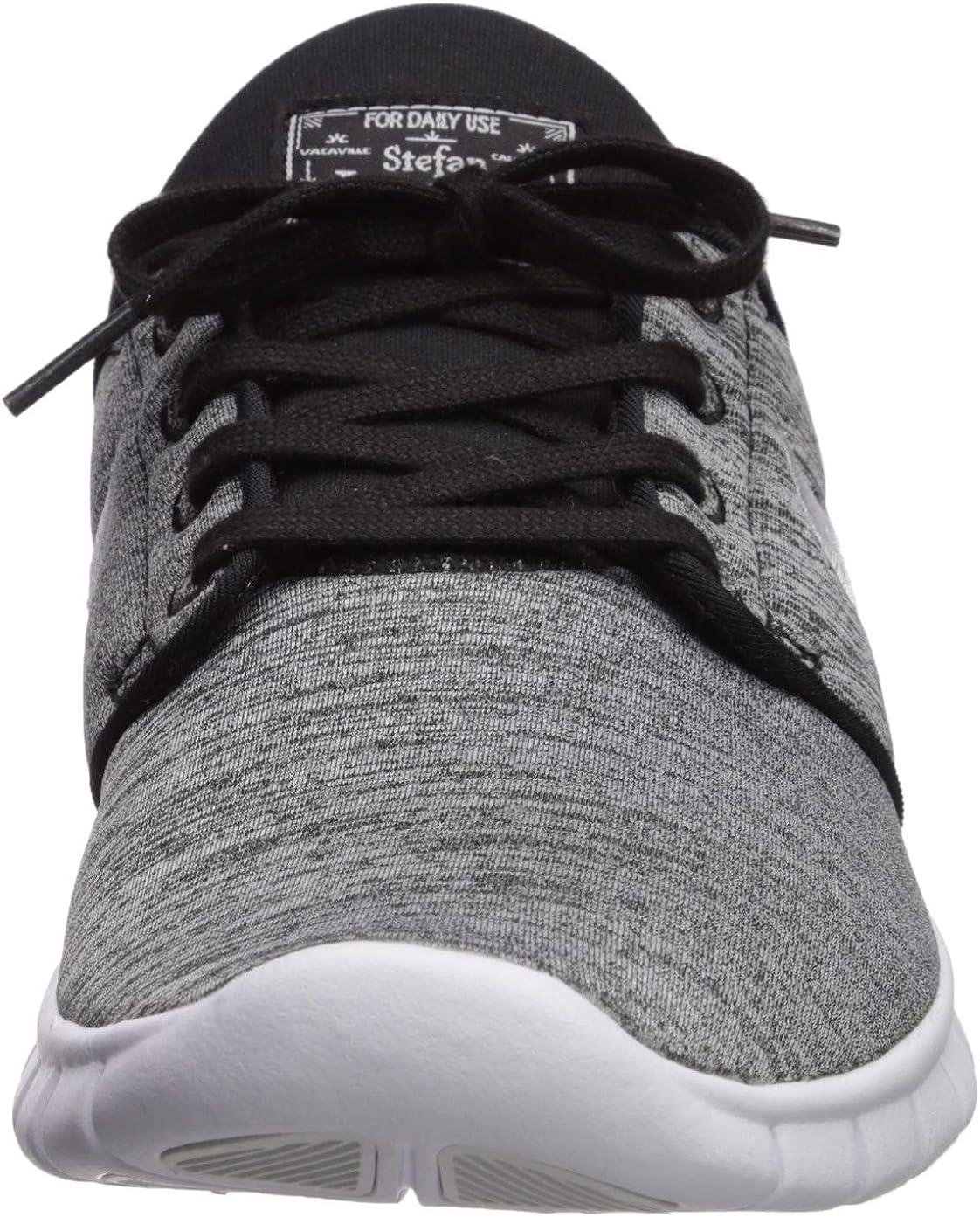 Nike Herren Stefan Janoski Max Turnschuhe Schwarz Black White 028