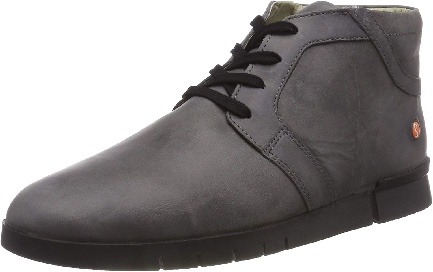 TALLA 40 EU. Softinos Cul479sof Corgi Leather, Zapatos de Cordones Brogue para Hombre