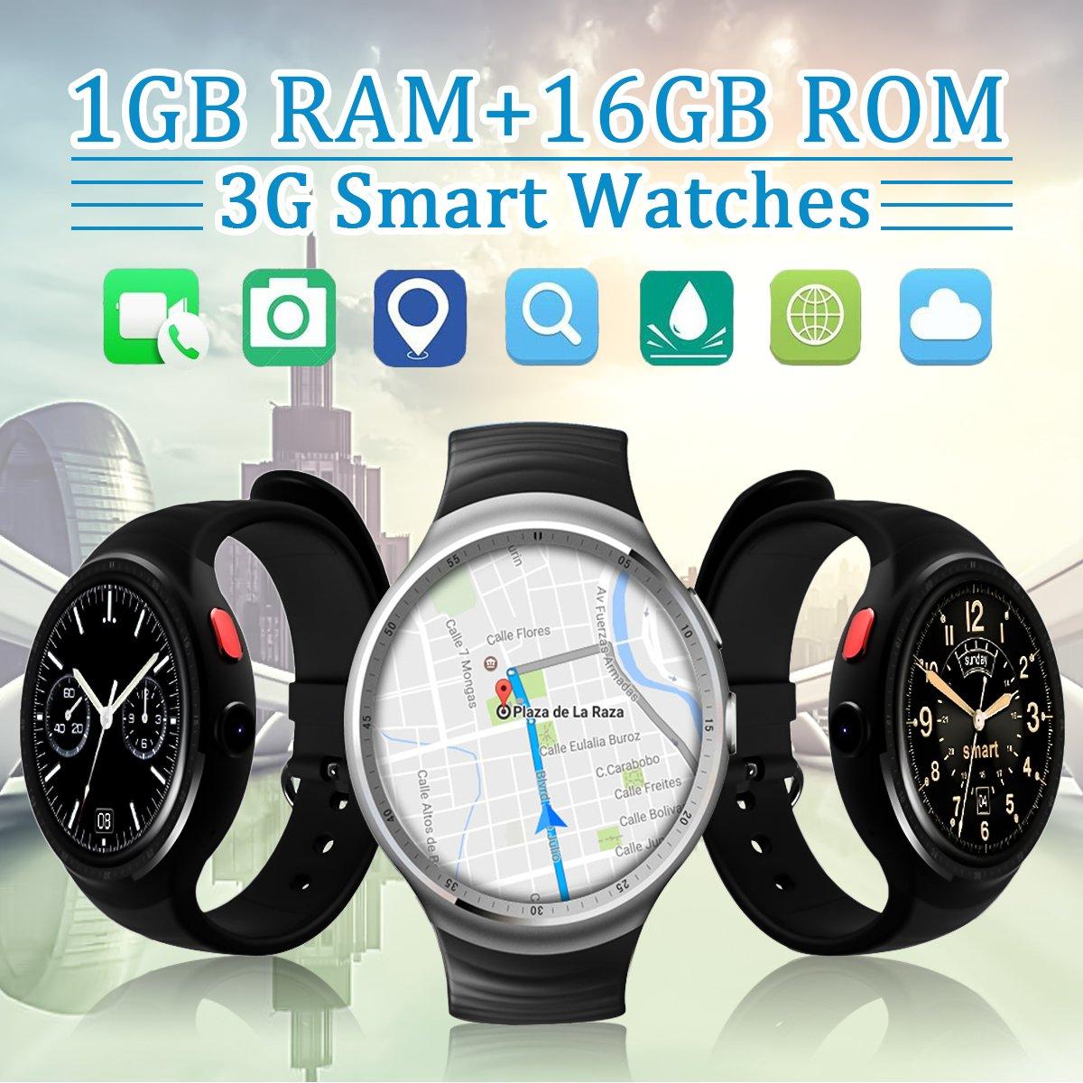 Smart Watch, hizek táctil de 1,39 pulgadas sin hilos impermeable ...