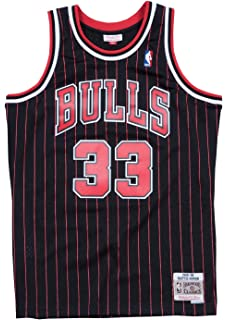 0013cf62189 Mitchell   Ness Scottie Pippen Chicago Bulls NBA Swingman HWC Jersey -  Pinstripe